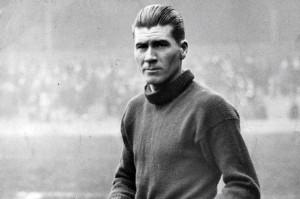 Belfast-born Liverpool goalkeeper Elisha Scott