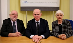 Historical Abuse Inquiry panel: (l-r) David Lane, Sir Anthony Hart and Geraldine Cormack