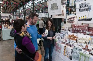 St Georges' Market is well worth a visit for its food and array of stalls
