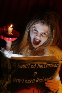 Hannah McQuillan is all spooked out after learning of Northern Ireland's jam-packed programme of Halloween events.