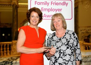 Pictured is Dianne Cardwell and Sue Logan from MPRNI.