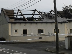 Newtowncunningham Orange Hall gutted three weeks ago
