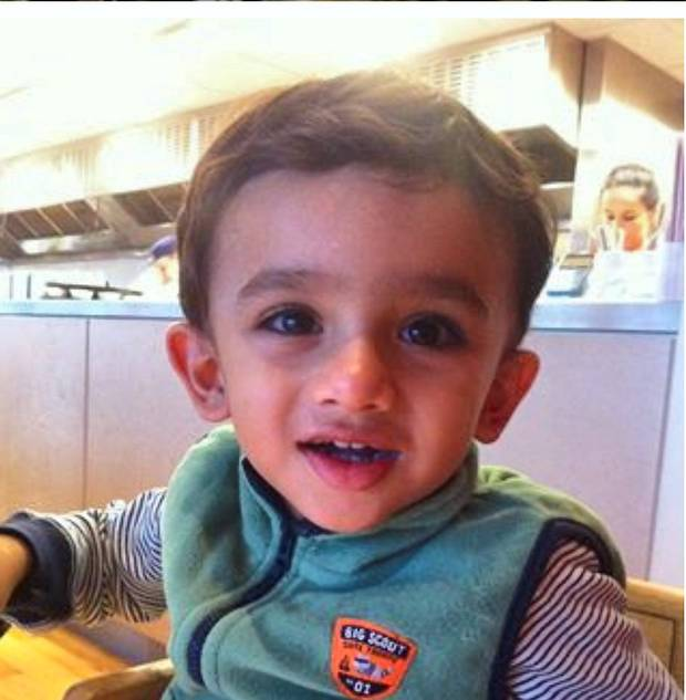 Toddler Hassan Khan found stabbed to death