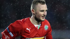 Reds goal hero Jude Winchester helped Cliftonville win Co Antrim Shield final