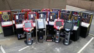 Gaming machines seized
