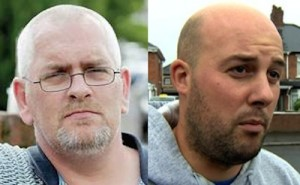 Martin Og Meehan (left) expelled for bad mouthing Dee Fennell (right0