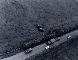 The scene of the murder of John Pat Cunningham in Benburb in June 1984