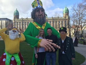 15,000 people enjoyed the St Patrick's day parade but 33 people were arrested by police