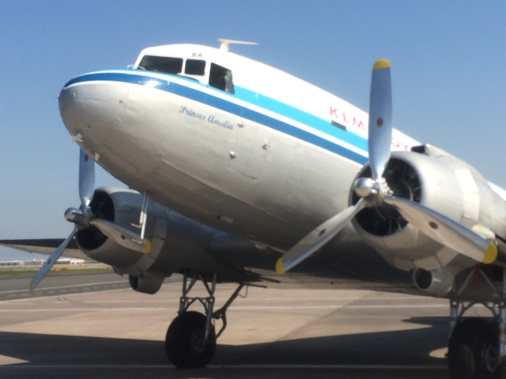 KLM flying