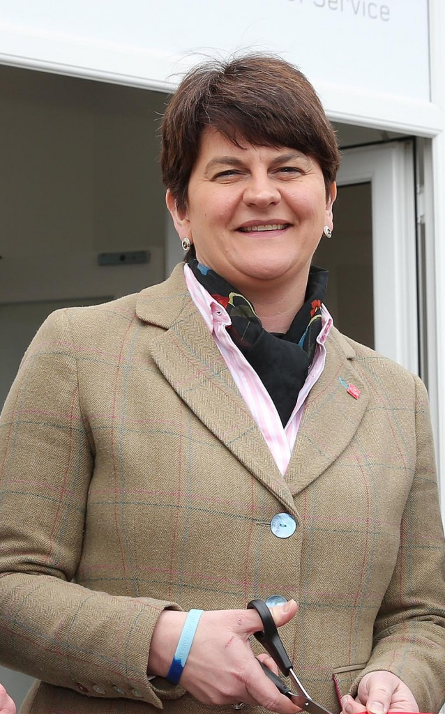 Arlene Foster takes over as First Minister of the NI Assembly