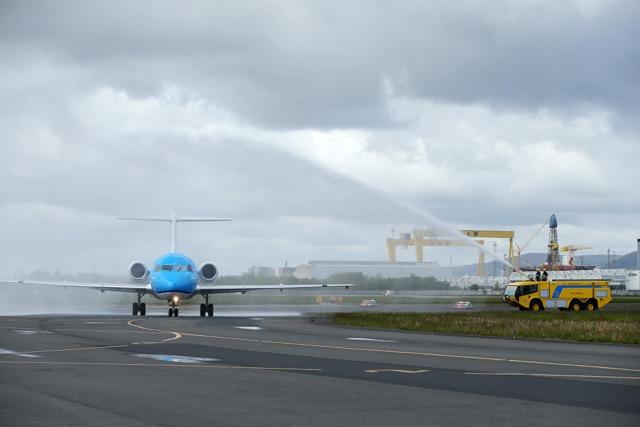 KLM arrives in Belfast