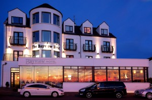 The splended Bayview Hotel in Portballintrae offers cosy family fun