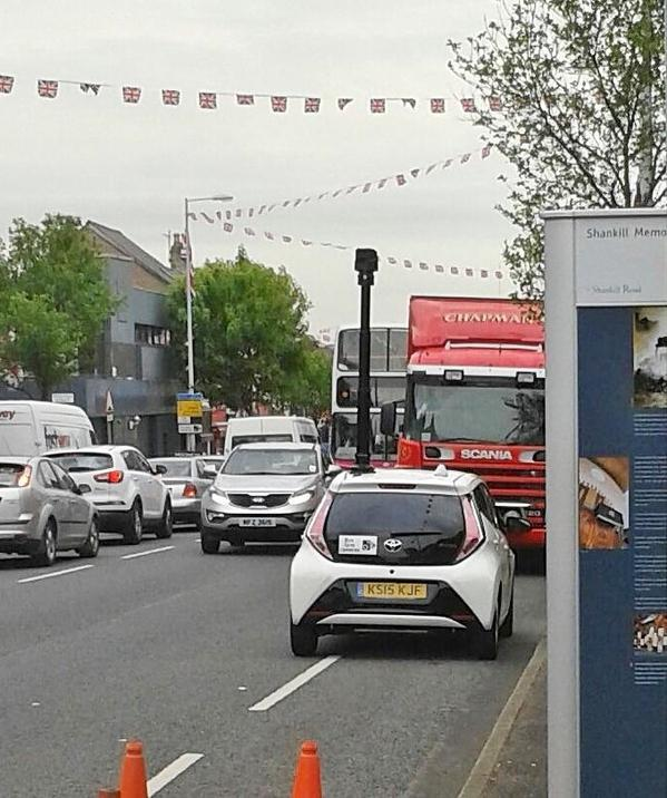 Bus lane camera car out to nab motorists