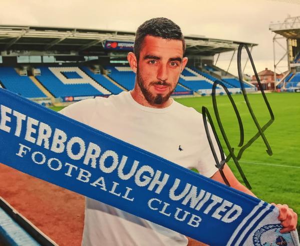 POSH BOY...Former Reds striker Joe Gormley finalises deal with Peterborough Utd