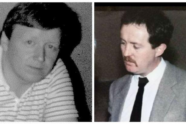 Loyalist murder victims John O'Hara and John Devine
