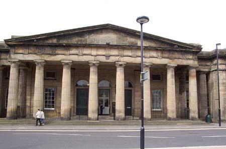 Perth Sheriff Court in Scotland