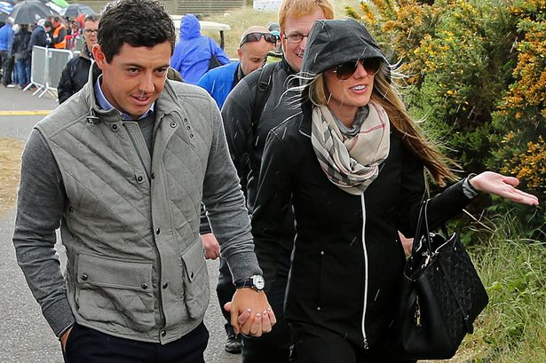 Rory McIlroy is said to have popped the question to girlfriend Erica Stoll