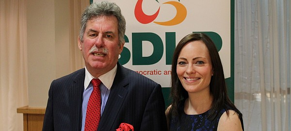 Outgoing SDLP MLA Alban Magennis and former Belfast Lord Mayor Nicola Mallon to run for MLA In north Belfast