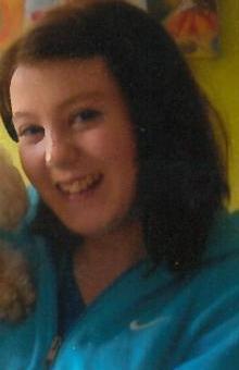Missing teenager Sophie Hunter