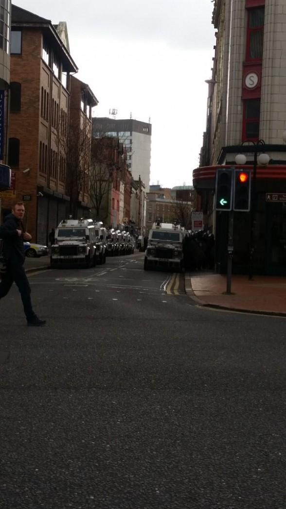 Belfast security operation 4