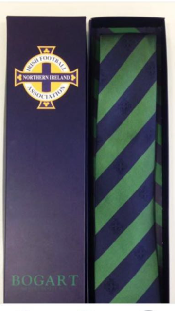 Five hundred bespoke Northern Ireland ties made with money going to Cancer Fund for Children