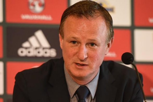 Northern Ireland manager Michael O'Neill makes five changes to his  starting 11 against Ukraine