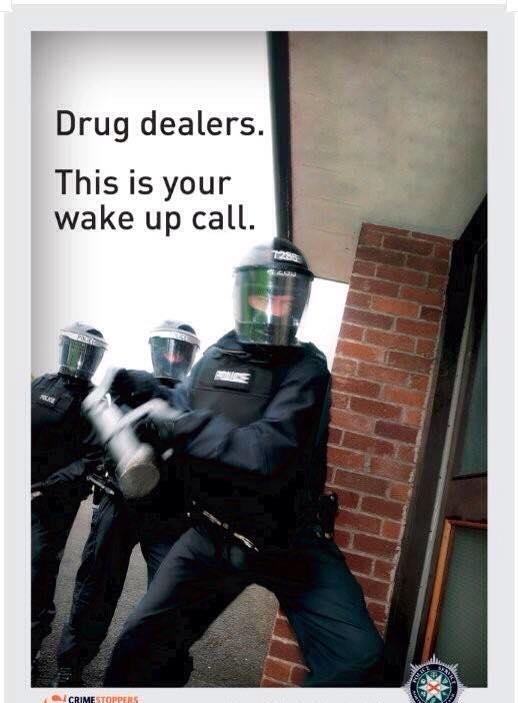 PSNI DRUGS RAID 1