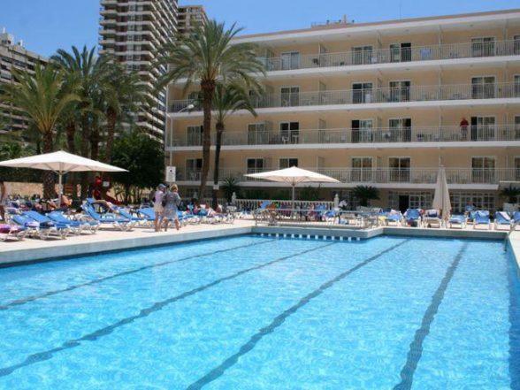 The Calypso Hotel in the Costa Blana