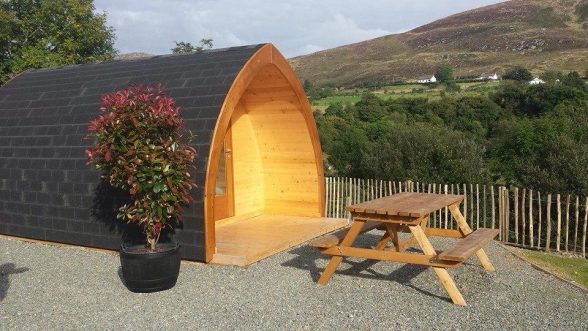 East Coast Adventure Glamping is located in the foothills of the Mourne Mountains, within six miles of the picturesque village of Rostrevor and close the spectacularly beautiful Carlingford Lough. East Coast Adventure also specialise in outdoor activities such as mountain biking, water sports and archery so whether you are looking for a quiet, peaceful retreat or something more adventurous the beautiful setting of the camping pods makes for an ideal break.