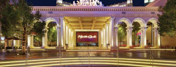 The Monte Carlo Hotel in Las Vegas