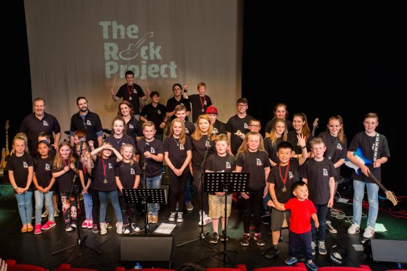 SHOWCASE: The talented youngsters took to the stage in the end-of-year concert.