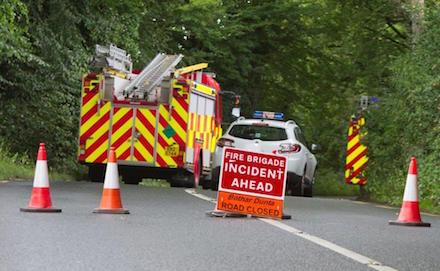 Lifford road crash
