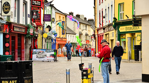Galway's Latin Quarter a place to see