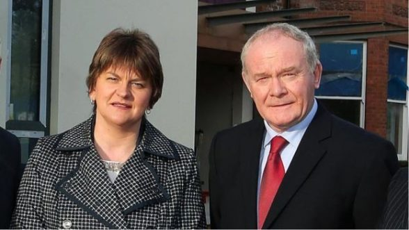 First Minister Arlene Foster and deputy first minister Martin McGuinness recall Assembly over RHI scandal